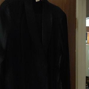 Two piece pant suit